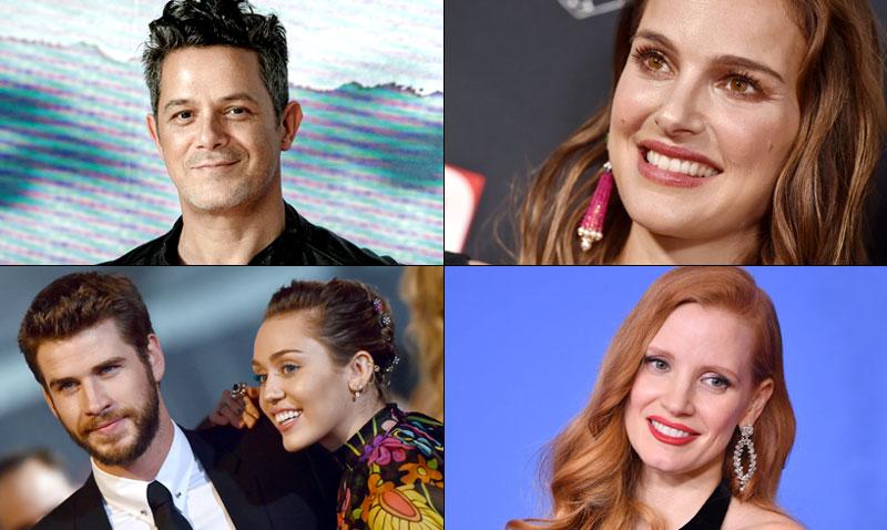 Alejandro Sanz, Natalie Portman, Liam Hemsworth, Jessica Chastain… ¿qué tienen en común?