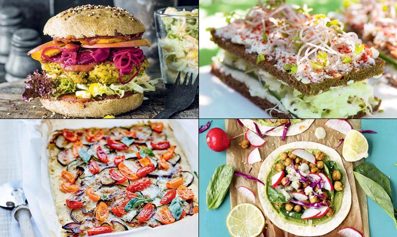 Hamburguesas, pizzas, sándwiches… disfrútalos en versión 'veggie'