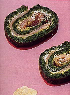 Roulade de espinacas