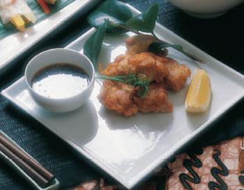 Pollo frito oriental