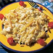 Bacalao con patatas fritas y huevo - Bacalao con garbanzos y patatas ...