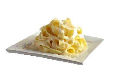 Tallarines a los dos quesos