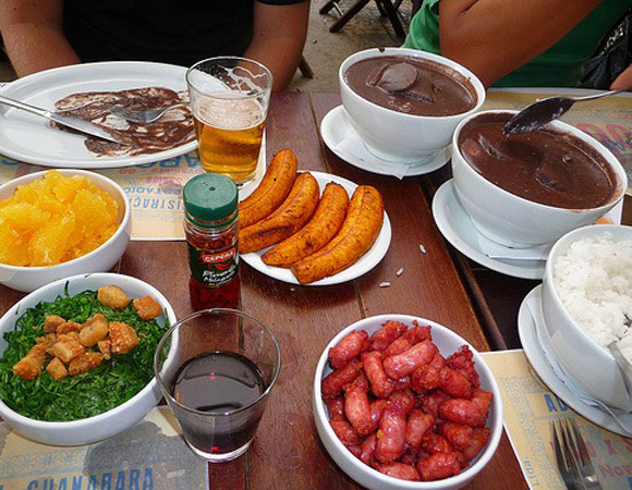 Feijoada: frijoles brasileños