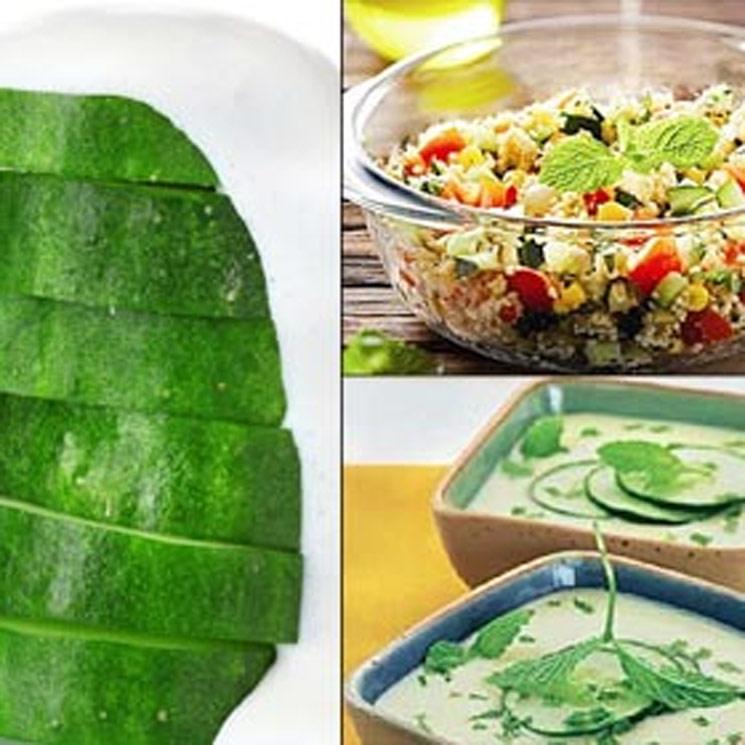 ¿Te apetece un toque refrescante en tus platos? ¡Busca pepino en tu nevera!