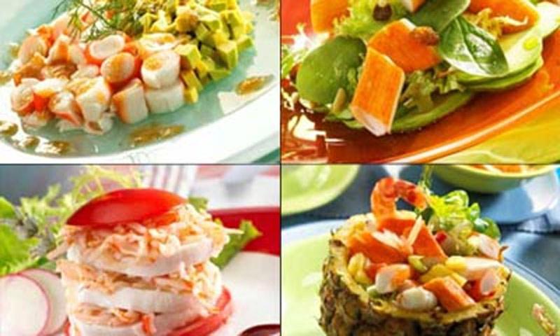 El 'surimi': un ingrediente versátil, saludable y muy poco calórico