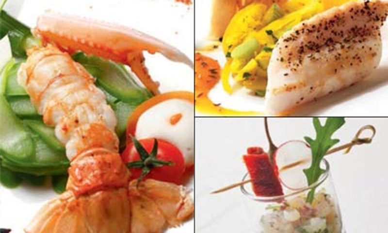 Un menú 'gourmet', ideal para mantener la línea