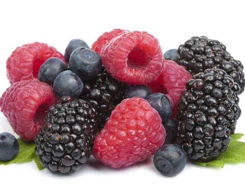 Alimentación Ciclismo - Frutos del bosque