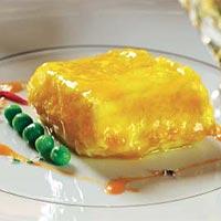 Lomo de merluza con guisantes y aroma de azafr n - Escuela de cocina azafran ...