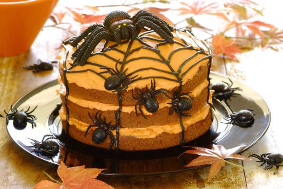 'Halloween Spider Cake'