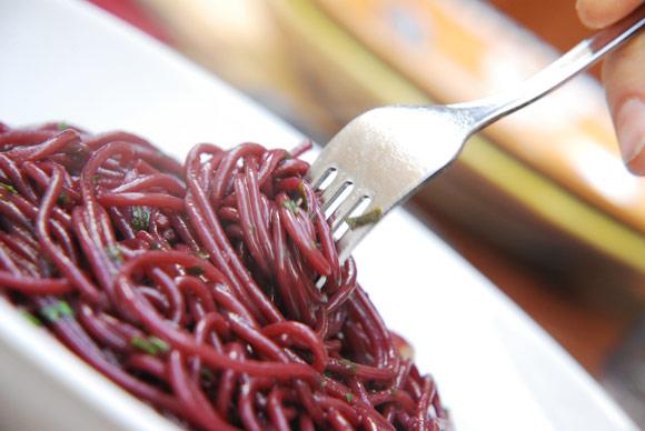 Espaguetis 'borrachos'