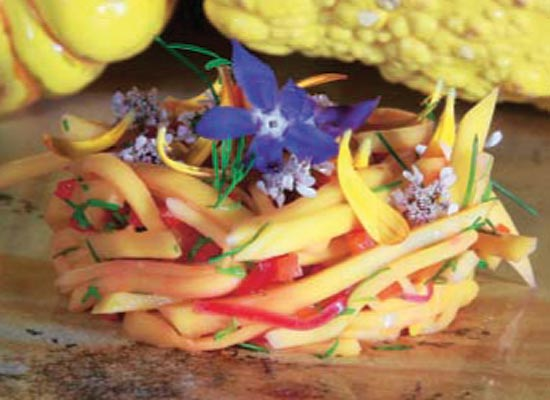 Cebiche de mango