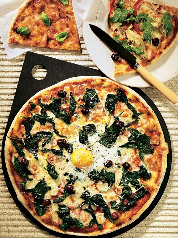 'Pizza' a la florentina
