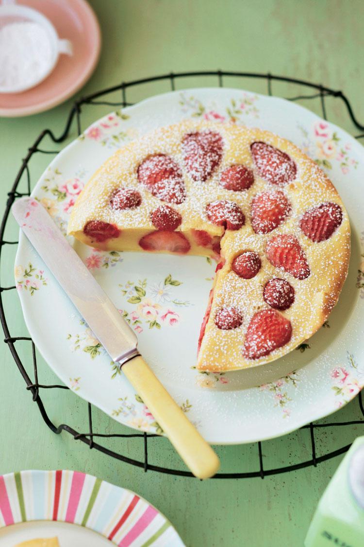 Tartita de fresas al aroma de vainilla