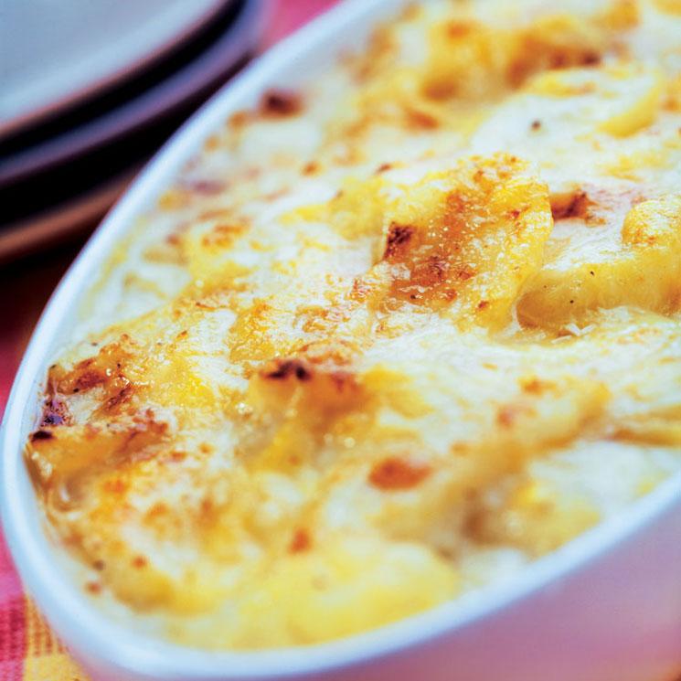 Patatas montañesas con queso de Liébana