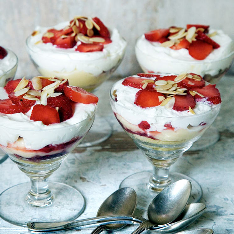 'Trifle' de verano