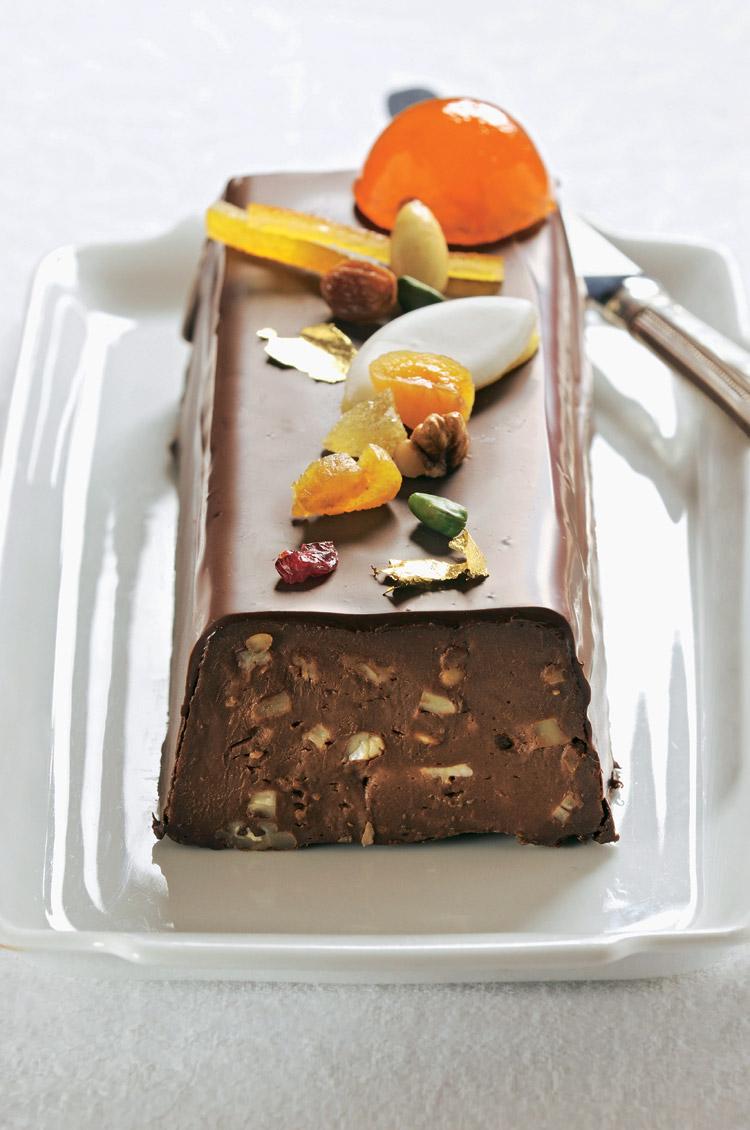 Terrina de chocolate negro