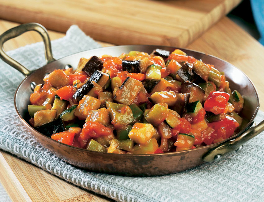 Sanfaina de verduras