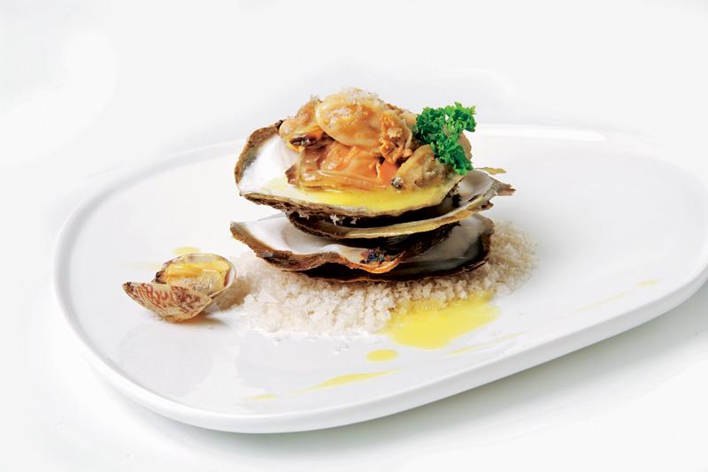 Delicias de ostras y almejas