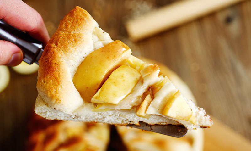 Tarta de manzana y limón