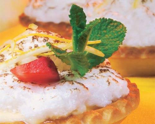 Tarta de limón y merengue, en diez pasos