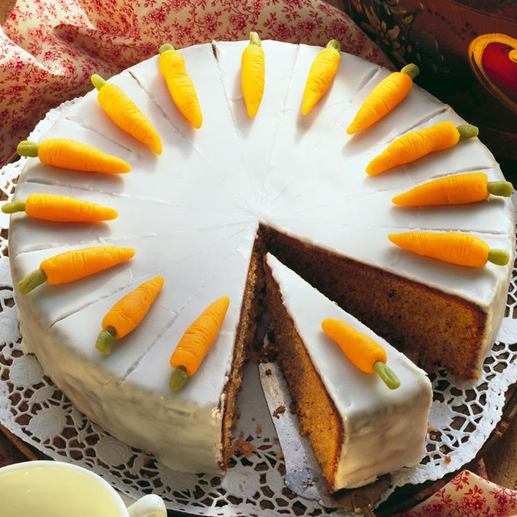Tarta De Zanahoria Y Almendras