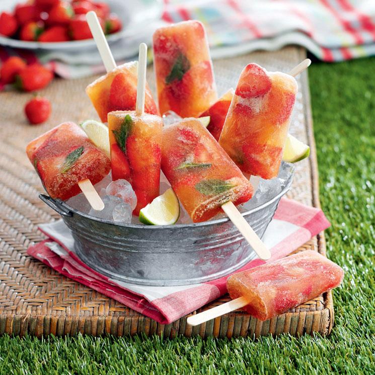 Polos de fresa y lima