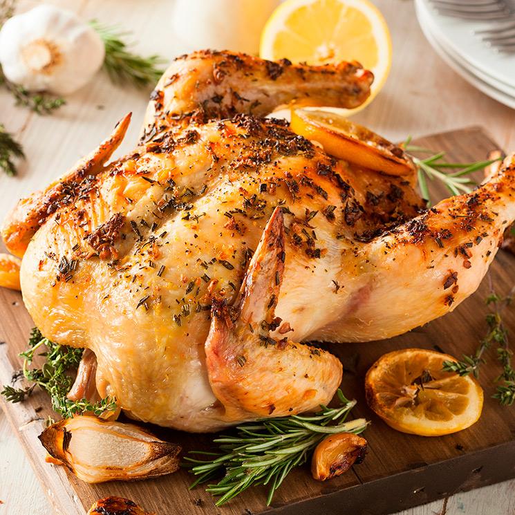 Pollo Al Horno Al Limón