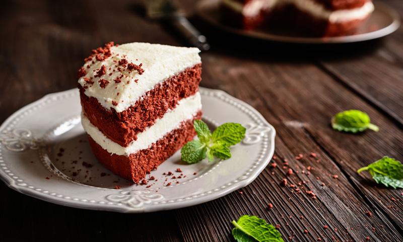Tarta 'Red velvet'