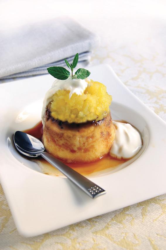 flan-compota-manzana-yogur