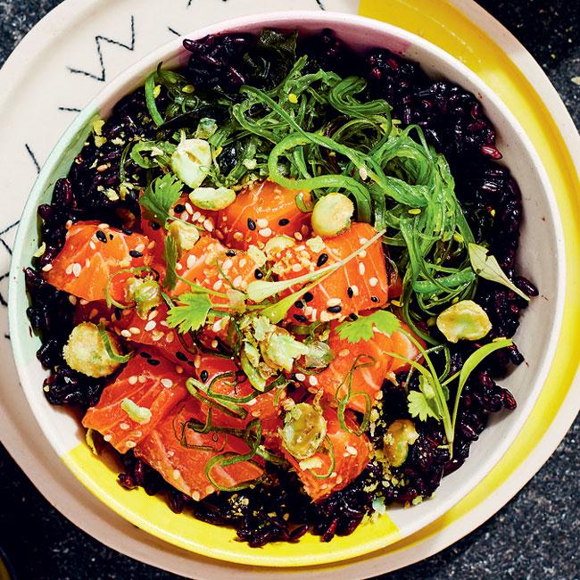 poke-salmon-wasabi