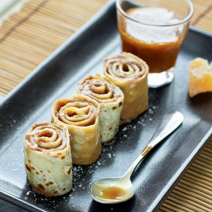 'Sushis' de dulce de leche