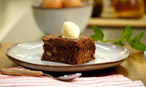 Cómo hacer un brownie casero sin gluten
