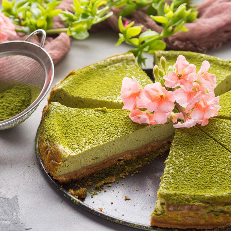 'Cheesecake' de té 'matcha'