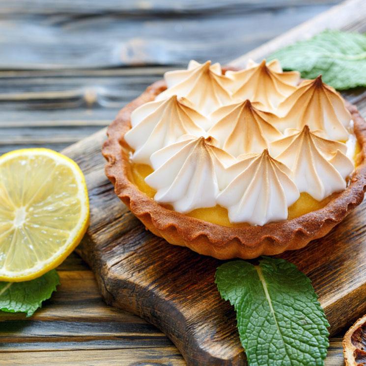 Tartaletas de limón con merengue