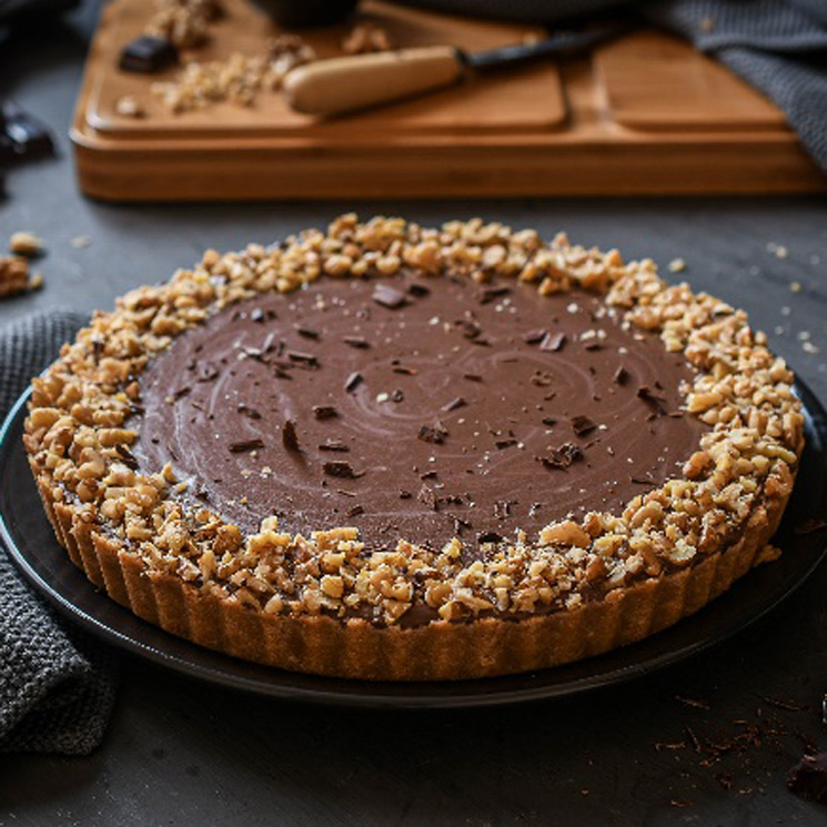 Tarta De Chocolate Con Base De Galletas Tipo María