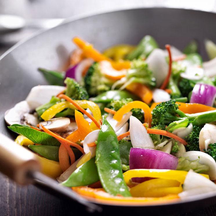 'Wok' vegetariano