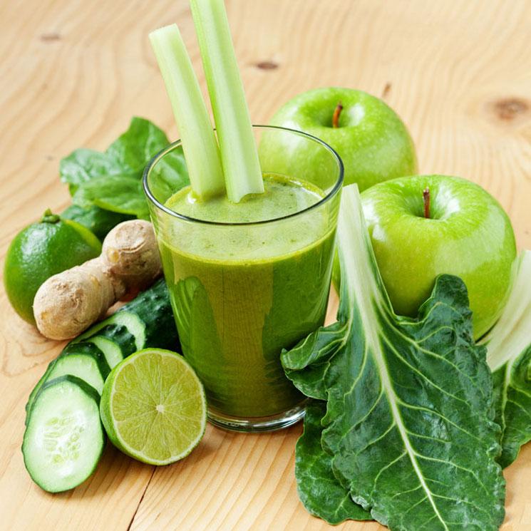 smoothie detox verde receta)