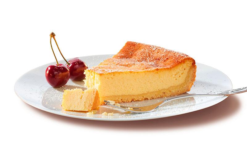 Tarta de queso al horno a la gallega