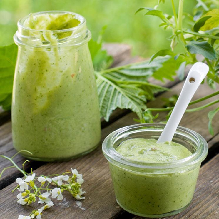 Salsa verde fría