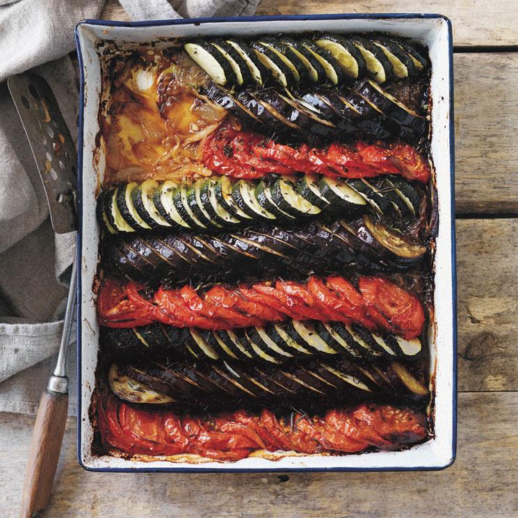'Tian' de verduras al horno