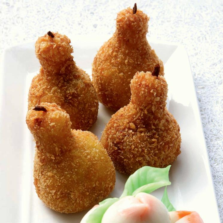 'Croqueperas'  dulces de melocotón