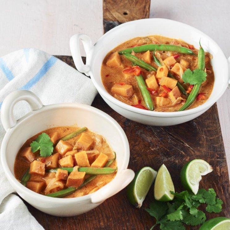 Curry rojo vegetariano