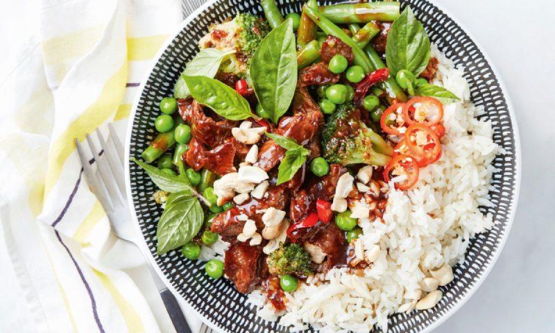 'Chop suey' de ternera