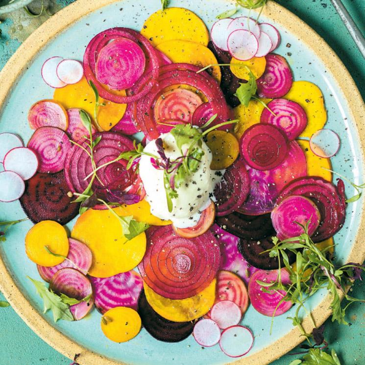 'Carpaccio' de hortalizas