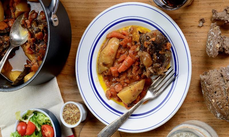 'Irish Stew' tradicional