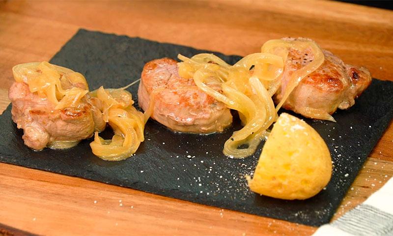 Solomillo de cerdo al vino de Jerez