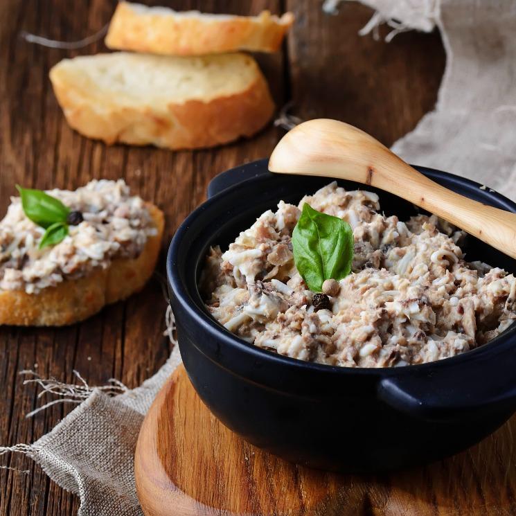 Paté de sardinas con mostaza