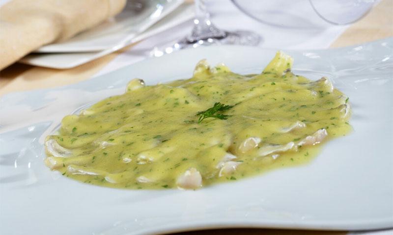 Cocochas de merluza al pil-pil