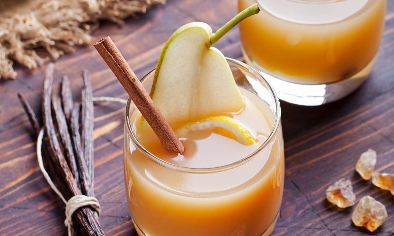 Ponche de peras