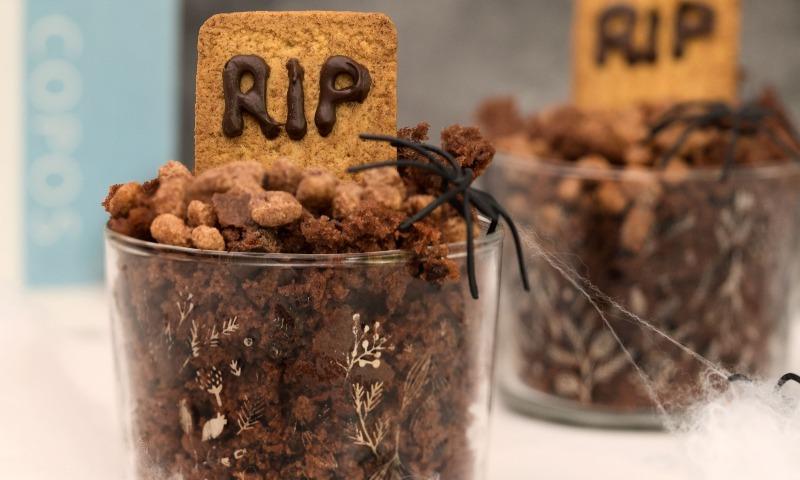 Tumbas de chocolate 'Halloween'